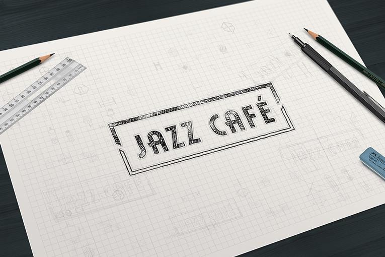 Jazz Cafe logo design